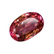 Rubellite 3.20 CTS Tourmaline Rouge IF