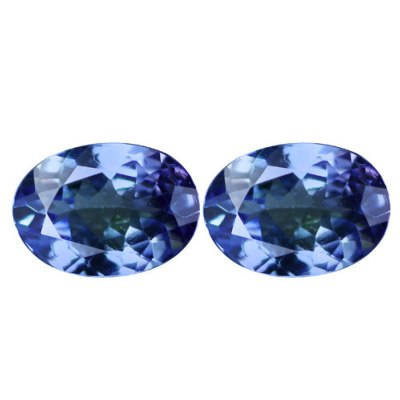 Tanzanite 1.08 CTS Paire