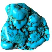 Turquoise 1410.50 CTS Brute Polie