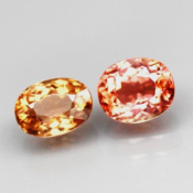 Rubellite  1.30 CTS IF Paire
