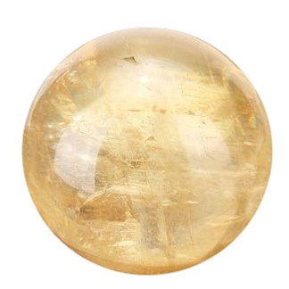 Citrine Sphère 580.00 CTS