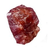 Rubellite Tourmaline Rouge 25.40 CTS Brute